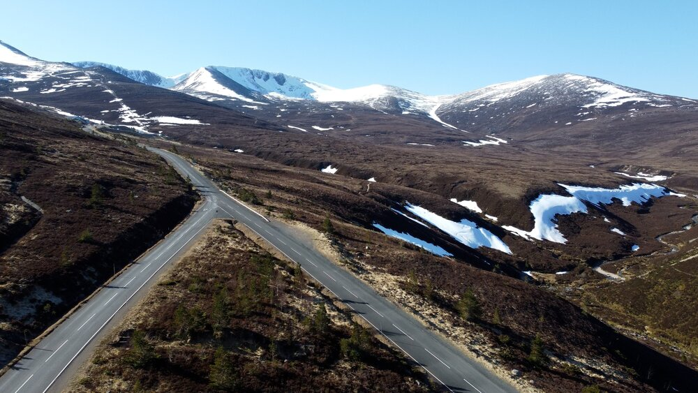 The Road to Cairngorm Mountain - Discover snow sports and lots of outdoor activities from your very own Aviemore lodge