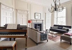 Piano and Living Room