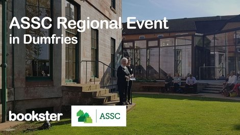 ASSC Regional Event 2019 - Dame Barbara Kelly presenting at Moat Brae in the Association of Self Caterers Scotland Regional Event in Dumfries.