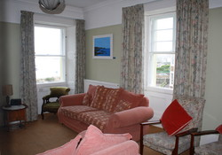 Self catering North Berwick sitting room,
