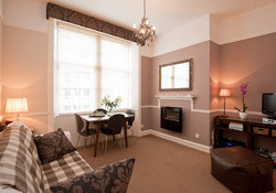 Castle View Apartment Living Room