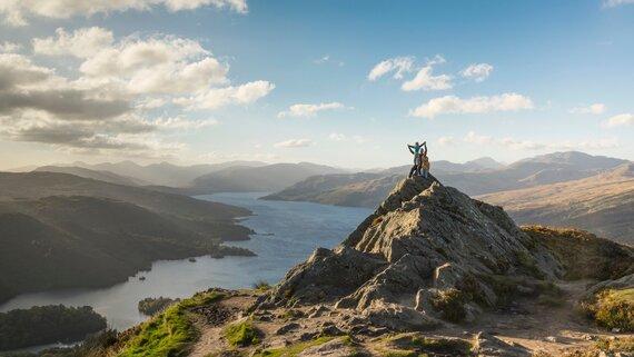 Loch Lomond (© VisitScotland / Kenny Lam)