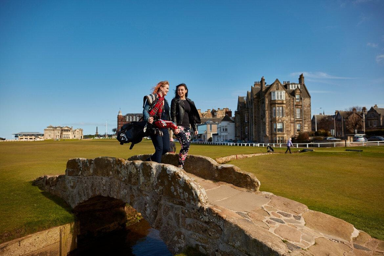 The 150 Open Golf St Andrews Accommodation (© visitscotland_VisitScotland  Peter Dibdin)