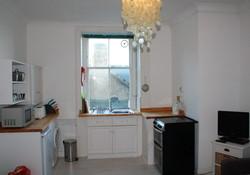 Open plan kitchen/ sitting room