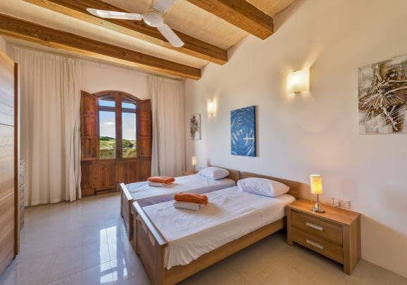Another bedroom in the Gozo villa