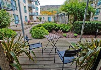 Holyrood garden flat