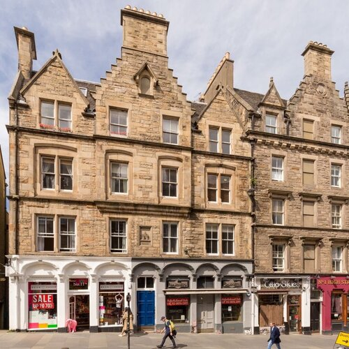 2 Bedroom Edinburgh Holiday let on the Royal Mile in Edinburgh city centre.