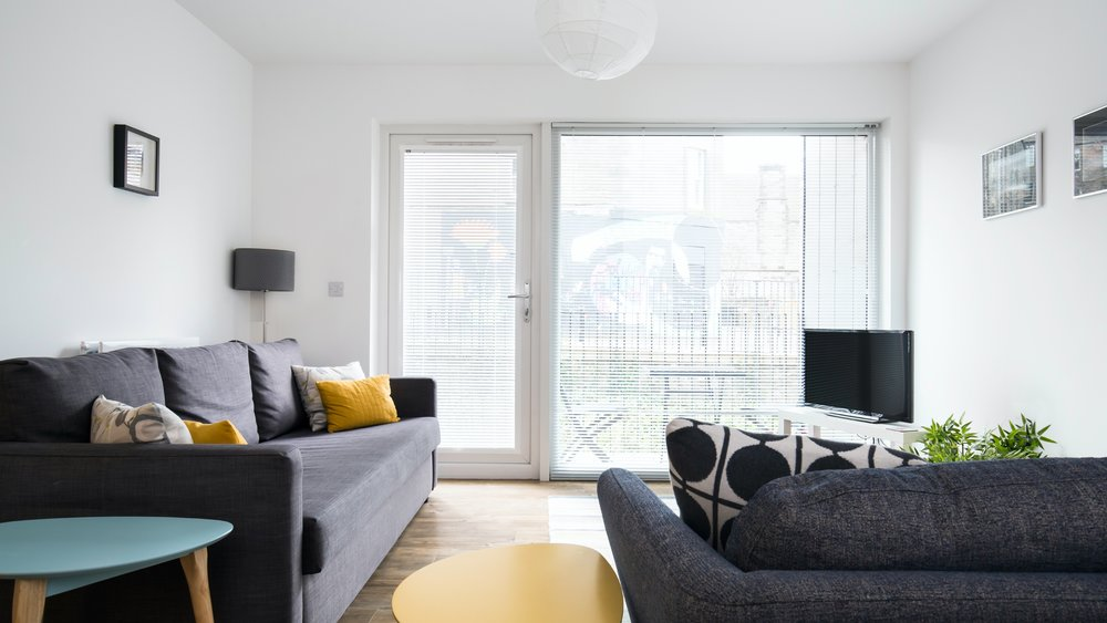 Brunswick Holiday apartment - 2 Bedroom, 2 bathroom holiday apartment in Edinburgh city center with parking. (© innerCityLets)