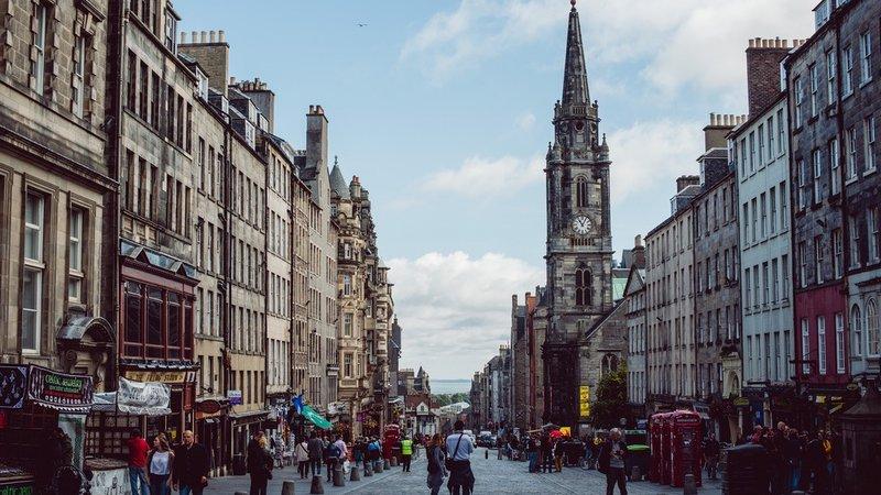 The Royal Mile Edinburgh