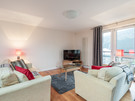 The Park (Holyrood Road) 8 - Spacious family living area at Edinburgh holiday let