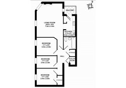 Buchanan Court (Calton Road) floor plan