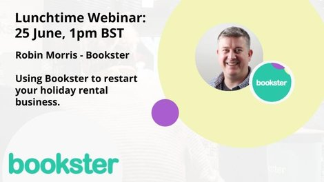 Vacation Rental meet-up event with Bookster - Robin from Bookster will present the tools and features to help you restart your vacation rental business after COVID19.