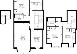Coates Gardens Apartment Floor Plan