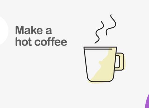Step 1 - Coffee.