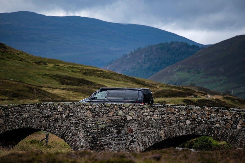 Bonnie the luxury campervan
