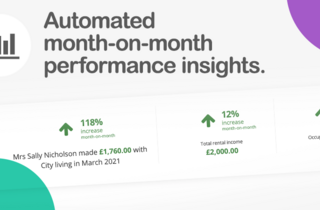 Automated month-on-month performance insights
