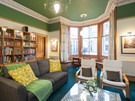 Haymarket Terrace 5 - Spacious family lounge with large bay window in Edinburgh holiday let