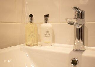 Shower room - luxury toiletries