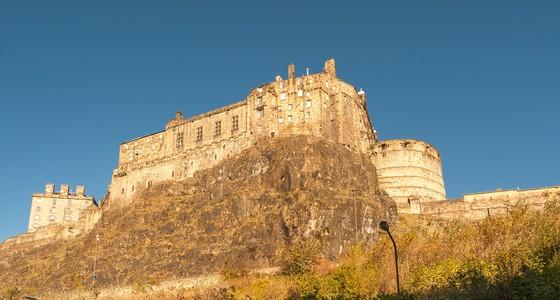Views of the Edinburgh Castle