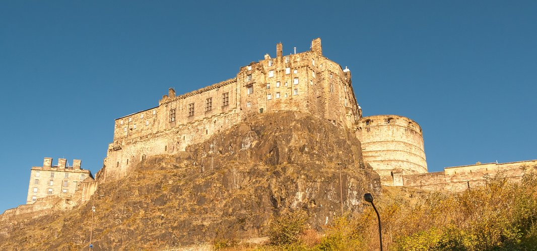 Views of the Edinburgh Castle