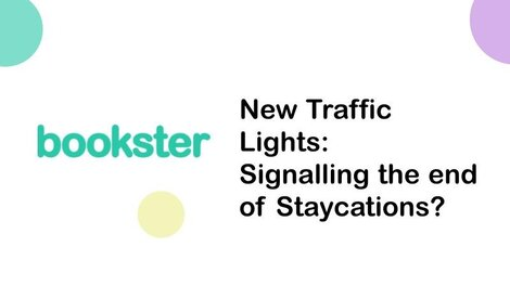Press Release: New traffic lights, signalling the end of Staycations? - In the UK, new traffic light travel system was implemented in October 2021. But what does this mean for the future of Staycation holidays?