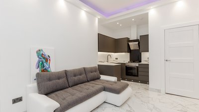 BroughtonRd_3 - Ultra-modern open plan living/kitchen area in Edinburgh holiday let