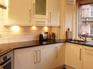 Kitchen: fully equipped modern kitchen with top of the range appliances