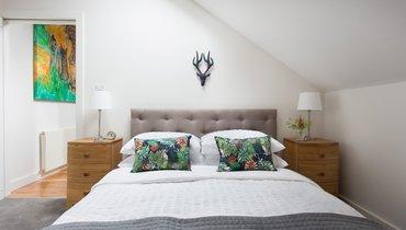 The Mews Double Bedroom (© The Edinburgh Address)