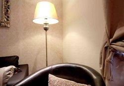 Lamp at night