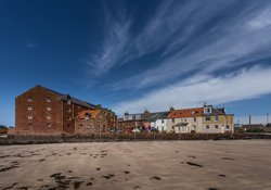 Stunning views to the harbour in North Berwick