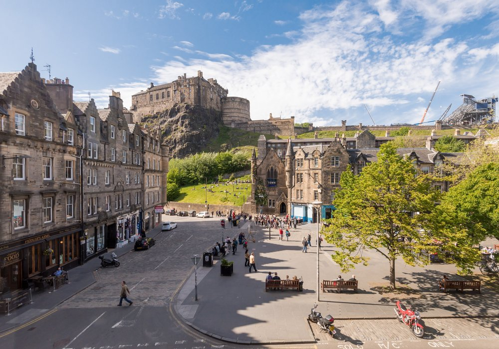 Castle View Suite 3 Old Town Edinburgh Edinburgh Self Catering