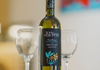Complimentary organic wine