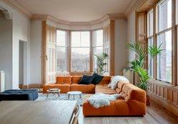 The Lounger with B&B Italia sofa