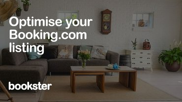 Increase bookings with Booking.com - Optimise your property listing in Booking.com to increase bookings and revenue