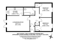 Castle Wynd Apartment floor plan