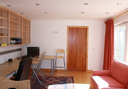 Snug/ study room in Gullane Self catering