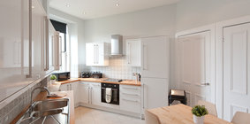 The kitchen offering the ultimate in flexibility
