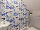 BroughtonPlaceLane-11 - WC room with decorative feature wall