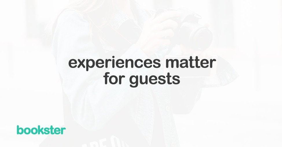 Bookster provides guests with a positive experience - Bookster property management software is filled with features to help your guest experience.