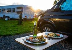 Campsite in Rowardennan, Loch Lomond, Scotland @stellapicsltd