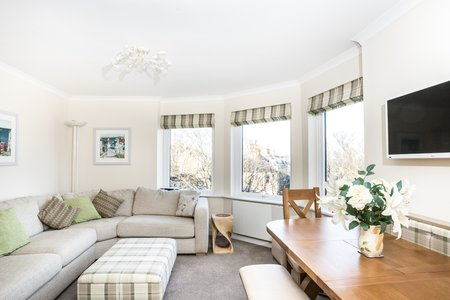 Westgate holiday apartment North Berwick - Stunning 2 bedroom seaside holiday apartment in North Berwick (© Coast Properties)