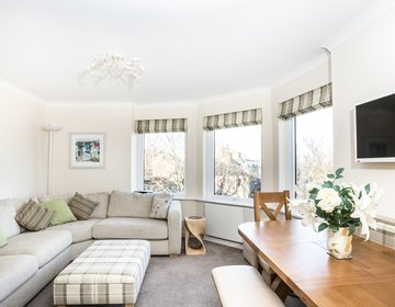 Westgate holiday apartment North Berwick - Stunning 2 bedroom seaside holiday apartment in North Berwick (© Coast Properties)