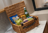 Luxurious food hamper