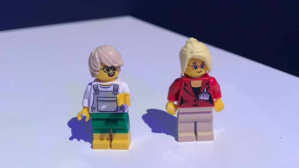 Lego at Click 2018 - Lego people made at Booking.com event