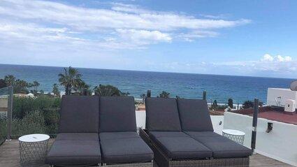 Marynka terrace sunbeds
