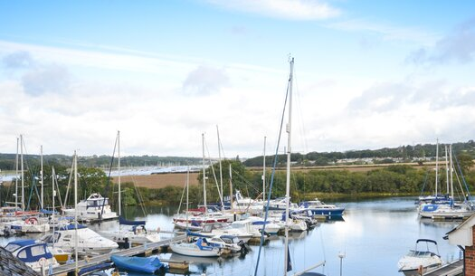 Marina - Island Harbour - Wight Holiday Lettings - Marina
