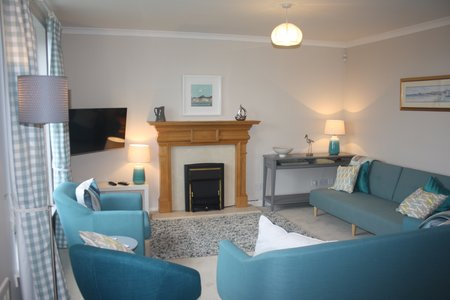 Dirrumadoo - Sitting room, 3 bedroom holiday apartment North Berwick