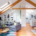 1.Bright open plan Kitchen & Lounge Room