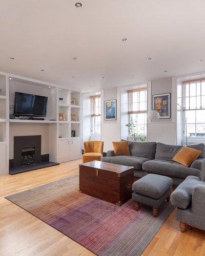 Living room in 1 Parliament Square, apartment 3