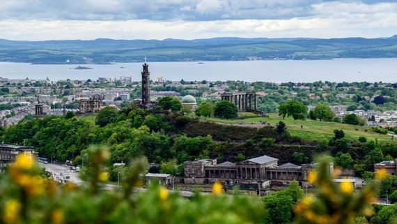 Great city views from Calton Hill